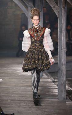 Chanel défilé Métiers d'Art 2012