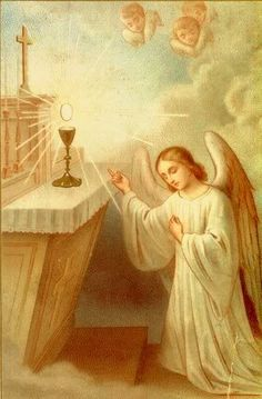 """""""If we could only understand Who is that God Whom we receive in Holy Communion, then what purity of heart we would bring to Him!"""" - St. Mary Magdalen de Pazzi"""