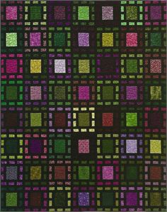 Stained glass squares