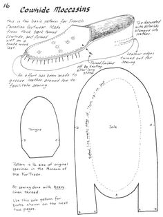 Years ago, when I was involved in the Great Lakes Fur trade I became very fond of my heavy cowhide moccasins. This type of moccasin was made in Montreal for use by thevoyageurs.  The cordonnier…