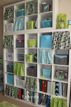 Craft Room Reveal- Decor Ideas and Craft Supplies Organization - Keeping it Simple Crafts
