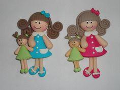 Girls n their dolls