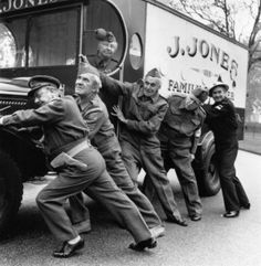 Dad's Army van for sale! The butcher's van that was made famous by the late Clive Dunn, aka 'Jonesy' in Dad's Army, is expected to sell for when it's auctioned by Bonhams on 3 December. Dad's Army, Vintage Tv, Vintage Photos, Home Guard, Bbc Tv Series, Boys Are Stupid, Van For Sale, British Comedy, Great Tv Shows
