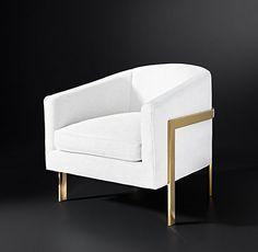 Reginald Fabric Collection | RH Modern