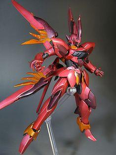 HG Zeydra Customized build by hobbynotoriko Texting Story, Mythological Monsters, Final Fantasy Characters, Robot Design, Metallic Colors, Plastic Models, Gundam, Japanese Style, Robots