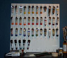 Matt Sterbenz Fine Art: Storing tubes of paint