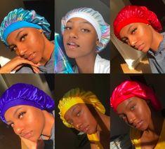 Jayybonnet Jayyrag # jayybonnet jayyrag Jayybonnet Jayyrag # hairstyles For Black Women. Cabelo Tye Dye, Headband Hairstyles, Weave Hairstyles, Baddie Hairstyles, Hairstyles 2018, Curly Hair Styles, Natural Hair Styles, Hair Bonnet, Silk Bonnet
