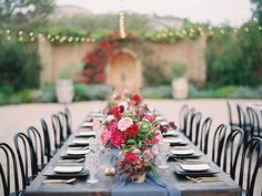 Vibrant Fuchsia, Pink & Burgundy Florals for an October Wedding