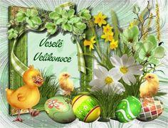 velikonoční přání – Seznam.cz Rooster, Floral Wreath, Decor, Flower Crowns, Decorating, Dekoration, Deco, Decorations, Deck