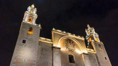 Beautiful Cathedral of Merida/Mexico; Capital of Yucatan #travel #reisen #placestoseebeforeyoudie #insidertipps #reisetipps #yucatan #mexico #merida