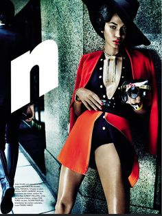 Joan Smalls Is Raw Elegance By Mario Testino For Vogue Brazil June 2013 - 3 Sensual Fashion Editorials | Art Exhibits - Anne of Carversville Women's News