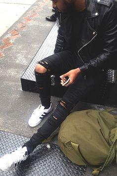 Macho Moda - Blog de Moda Masculina: Calça Rasgada Masculina (Destroyed Jeans), pra inspirar! Mais