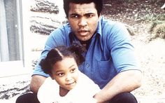 Muhammad Ali and daughter Maryum