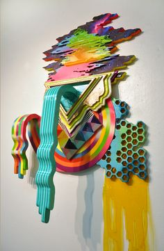 Hilary White - Gainesville, FL Artist - Collage Artists - Painters - Artistaday.com