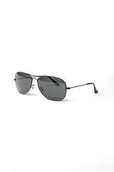 Ray-Ban Cockpit Sunglasses in Black Runway Fashion, Fashion Tips, Fashion  Trends, 10626aa49a