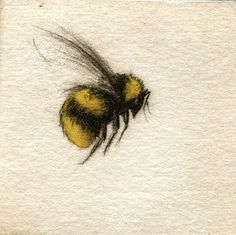 Bumble bee :) I like this water color style. is it possible to make tattoos look like water color? If you find a talented enough artist and aren't afraid to pay a good amount of money! Bumble Bee Tattoo, Honey Bee Tattoo, Tatto Old, Tatoo Art, I Tattoo, Wasp Tattoo, Tattoo Music, Tattoo Small, Skull Tatto