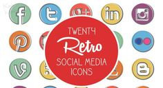 The 30 Best Free Social Media Icon Sets of 2015 – Design School