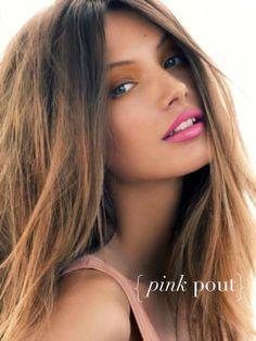 { pink pout }