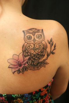 20 Owl Tattoos - Unbelievable Designs | Tattoos Beautiful