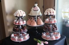 bridal shower set up ideas | by CakeCentral.com member SweetsObsession:
