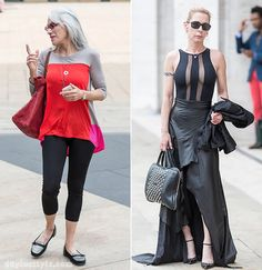 Streetstyle at New York Fashion week as worn by 40+ women! | 40+ Style