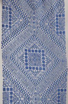 #RomanianBlouse detail. Banat, 1935. Marius Matei collection
