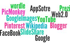Web 2.0 - These are all the Web 2.0 website I can remember using for my research and planning,  couldn't think of a more creative way to display these other than on Wordle so here is a very easy to make collage of website names I used to help develop my production.