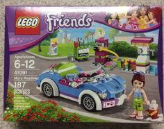New Lego Friends Set 41091 MIA's Roadster 187 Pcs Ages 6 Building Toy | eBay