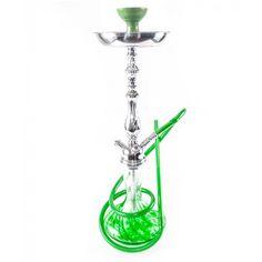 Amy Shisha Heavy Shay Green Silver-Shaft von Amy Shishas, HPCB-004-C-Green
