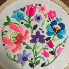 Marvelous Crewel Embroidery Long Short Soft Shading In Colors Ideas. Enchanting Crewel Embroidery Long Short Soft Shading In Colors Ideas. Mexican Embroidery, Hungarian Embroidery, Brazilian Embroidery, Learn Embroidery, Crewel Embroidery, Vintage Embroidery, Embroidery Patterns, Machine Embroidery, Beginner Embroidery