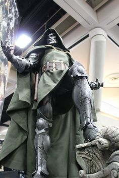 Dr Doom - Looks more like a Statue, but if it isn't...