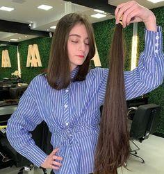 Long To Short Hair, Short Hair Cuts, Short Hair Styles, Long Hair Ponytail, Ponytail Hairstyles, Girls Short Haircuts, Short Girls, Girls Cuts, Cut Her Hair