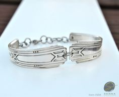 $24.50. silverware jewelry, spoon jewelry, silverware art, fork bracelet, bracelet by…