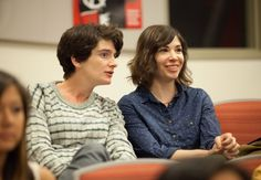 Ali and Syd - Season 1 Transparent Tv Series, Carrie Brownstein, Season 4, Her Hair, Ali, Outfits, Suits, Ant, Kleding