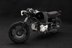 stefano venier reworks ducati pantah to sputafuoco motorcycle