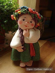 Куклы из солёного теста Валентины Петруниной / Авторская кукла известных дизайнеров / Бэйбики. Куклы фото. Одежда для кукол
