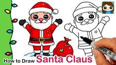 How to Draw Santa Claus | Christmas Series #1