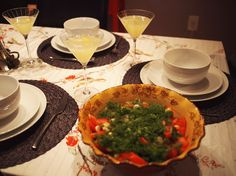 #russian #dinnerparty #greensalad #unsocialsocialite #dinnerparty
