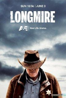 Longmire - a new AE tv series on Sunday nights, based on the Walt Longmire series by Craig Johnson. Australian actor Robert Taylor is Sheriff Walt Longmire, along with Lou Diamond Phillips as his close friend, Henry Standing Bear. Best New Shows, Great Tv Shows, Favorite Tv Shows, Favorite Things, Longmire Series, Walt Longmire, Bailey Chase, Wyoming, Movies Showing