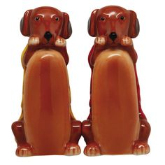 Hot Dogs Salt and Pepper Shakers