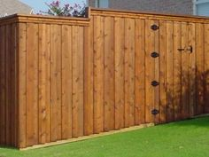 cedar fence designs | Wood Fences