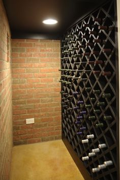 simple wine cellar