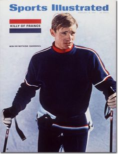 February 21, 1966 - marks the move from the 2-line logo to 1-line, and introduces he rest of the world to Jean-Claude Killy (and once again, SI shows its ability to predict the future).