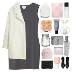 """""""GONNA BE SOMETHING SWEET"""" by elainesabine ❤ liked on Polyvore featuring Monki, MANGO, MAKE UP FOR EVER, Essie, MAC Cosmetics, PB 0110, STONE ISLAND, Bloomingville, Paul's Boutique and H&M"""