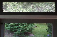 Pinterest Inspired mosaic window.