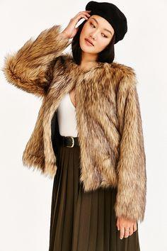 Numph Gitte Faux Fur Jacket