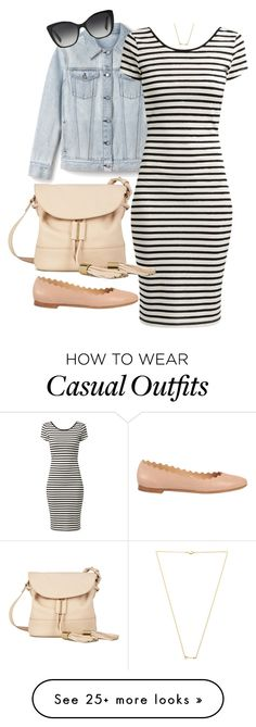 """Casual Style"" by jellymae on Polyvore featuring See by Chloé, Dolce&Gabbana, Wanderlust + Co and Chloé"
