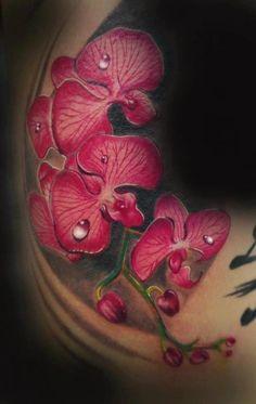 orchid tattoo | Tumblr