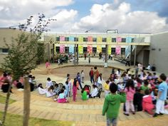 Pin By Knafo Klimor Architects On Rakafot Green School | Pinterest | Green  School, Sustainable Architecture And School Design