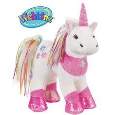 Webkinz Ribbon Unicorn
